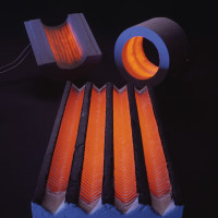 Glowing Ceramic Fiber Heater Group